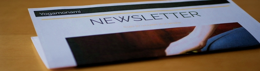 Newsletter Yogamonami